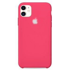 Apple Θήκη Σιλικόνης για iPhone 11  Hot Pink  Oem