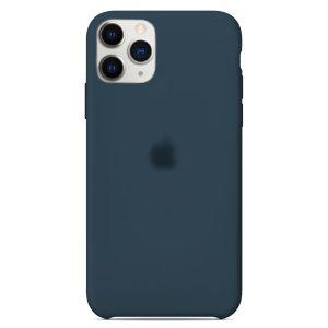 Apple Θήκη Σιλικόνης iPhone 11 pro Max Dark-Blue  Oem