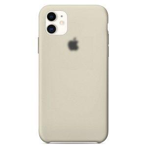 Apple Θήκη Σιλικόνης iPhone 11  Gray  oem