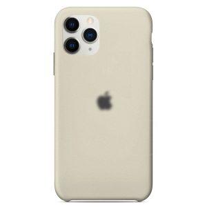 Apple Θήκη Σιλικόνης iPhone 11 pro Max Grey  Oem