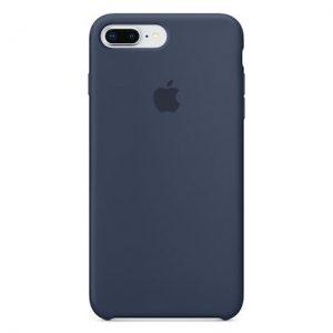 Apple iPhone 7 Plus/ 8   Plus Dark Blue Θηκη Σιλικόνης Oem